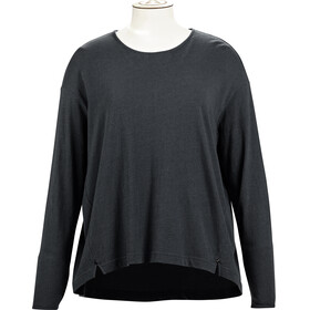 Alchemy W's Long Sleeve Pleated Relaxed Top Graphite